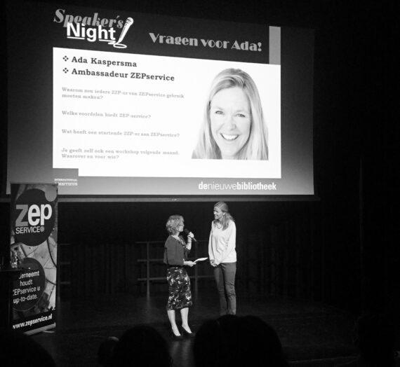 Speaker's Night Zakelijk: the day after