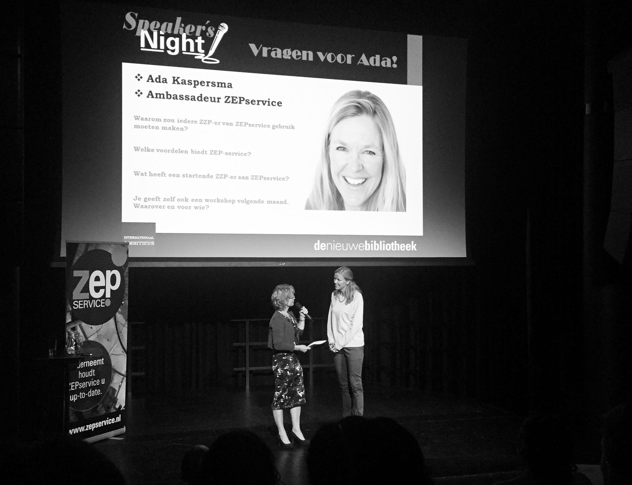Speaker's Night Zakelijk