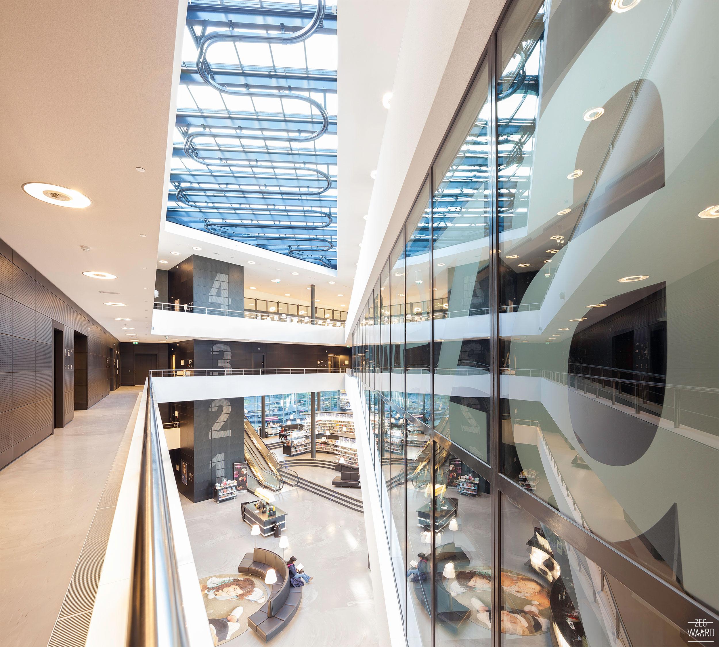 Zalen huren bij de nieuwe bibliotheek in Almere? Jazeker!